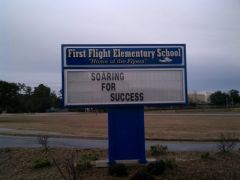 First Flight Elementary School photo