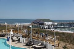 Outdoor pool and deck at Hilton Garden Inn Outer Banks/Kitty Hawk