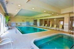 Indoor pool at Hilton Garden Inn Outer Banks/Kitty Hawk