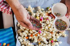 Sweet and Salty Popcorn & Shaved Ice photo