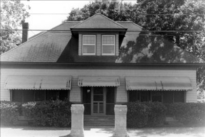 Exterior of the Creef House