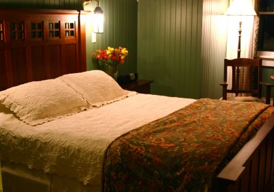 Featherstone room at Cameron House Inn