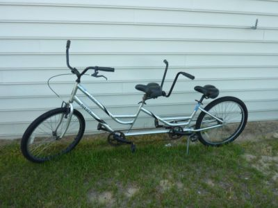 Tandem bikes for rent at Just For the Beach Rentals