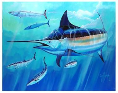 Guy Harvey Hoo's Next Painting