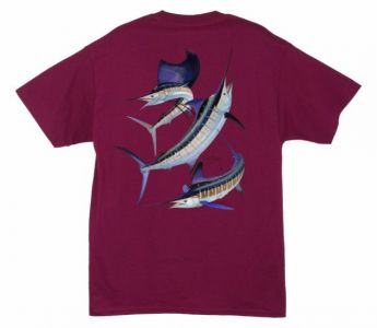 Guy Harvey Grand Slam T Shirt