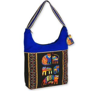 Laurel Burch Fantastic Feline Cousins Bag
