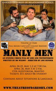 "Theatre of Dare Presents ""Manly Men"""