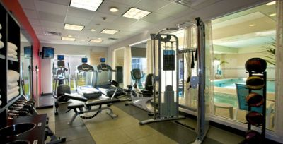 Fitness room at Hilton Garden Inn Outer Banks/Kitty Hawk