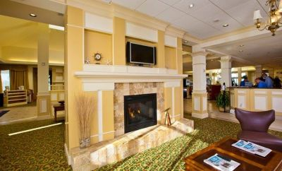 Lobby at Hilton Garden Inn Outer Banks/Kitty Hawk