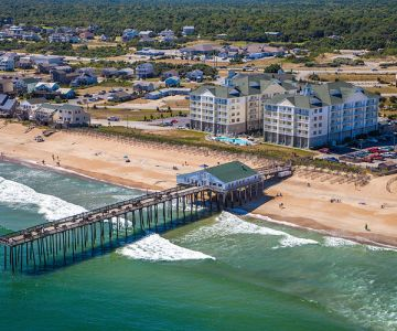 Aerial view of Hilton Garden Inn Outer Banks/Kitty Hawk