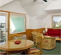 Harbor front suite at Ocracoke Harbor Inn