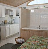 Suite with a Jacuzzi tub at Ocracoke Harbor Inn