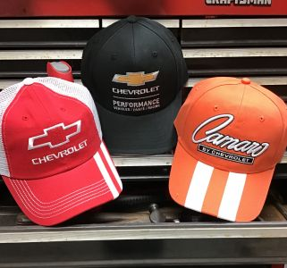 Chevrolet Camaro Chevelle Hats