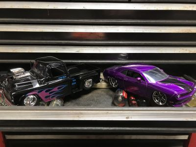 Diecast Replica Cars and Trucks