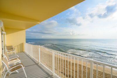 Condo Style Suite - Balcony view