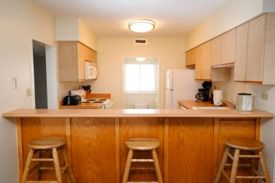 Condo Style Suite - Fully Equipped Kitchen