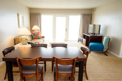 Condo Style Suite - Dining & Living Room