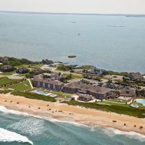 Sanderling Resort, aerial view