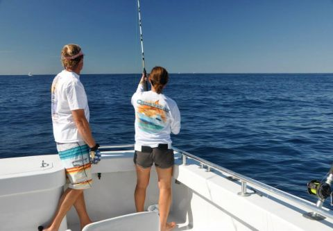 Country Girl Charters, Private Gulf Stream/Wreckfishing Charters - Parties of 13 Plus
