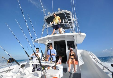 Country Girl Charters, Full-Day Ocean Wreck Fishing
