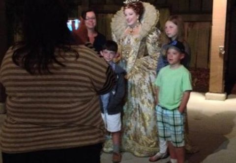 The Lost Colony, Character Dinner Nights