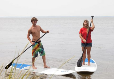 Ocean Atlantic Rentals, Stand Up Paddle Board the OBX!
