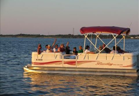Sunset Watersports, Pontoon Boat Rentals - Sunset Cruise
