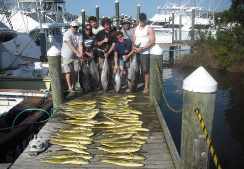A-Salt Weapon Charters, Marlin and Dolphin