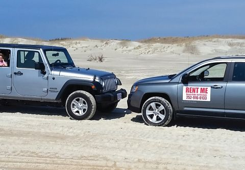 Beach Ride Rentals, Rent a 4x4 Vehicle