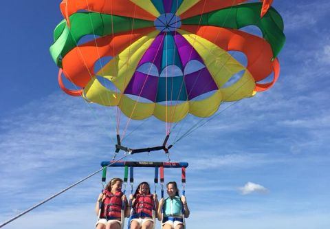 Hatteras Parasail, Parasail over Hatteras