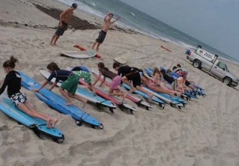 Ride The Wind Surf Shop, Group Surf Lesson