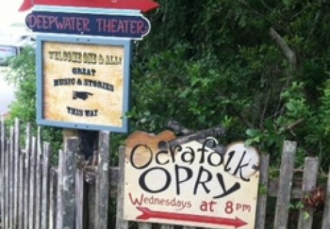 Ocracoke Alive, Deepwater Theater and Music Hall
