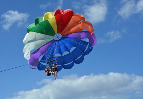 Corolla & Duck Parasail, Enjoy an adrenaline-pumping yet Safe Parasail Flight