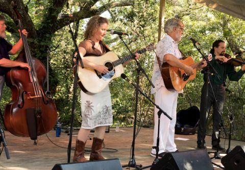 Ocracoke Alive, Attend the Ocrafolk Festival