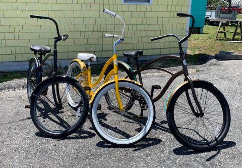 Island Cycles & Beach Gear, Beach Cruiser Rentals