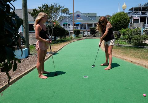 Corolla Water Sports, Putt-Putt on a Private Island