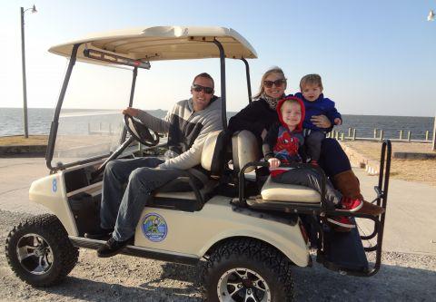 Wheelie Fun Cart Rentals, Family Cart Hourly Rental