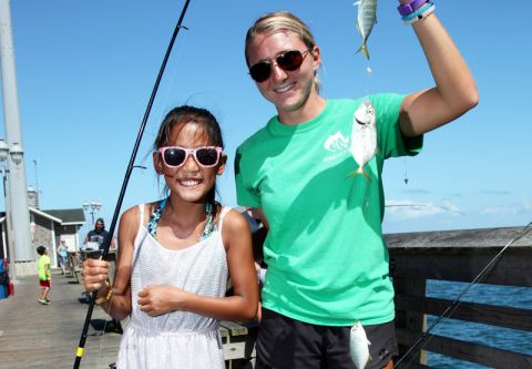 Jennette's Pier, Family Fishing Program