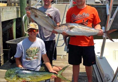 Corolla Bait and Tackle, Make-Up Charters