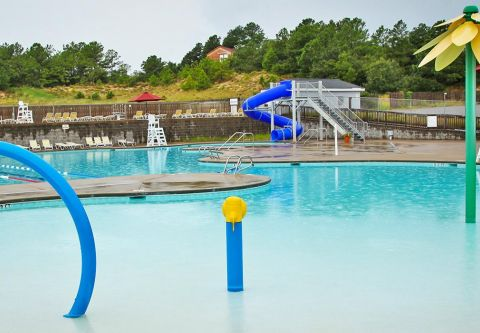 YMCA Water Park, Fun for The Younger Children