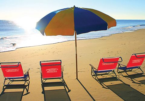 Moneysworth Beach Equipment and Linen Rentals, Family Beach Package