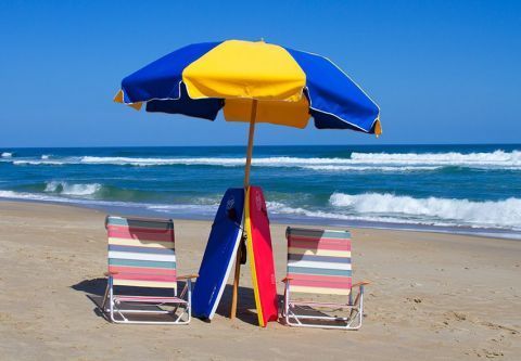 Moneysworth Beach Equipment and Linen Rentals, Boogie at the Beach Package