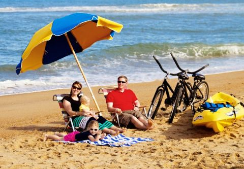Moneysworth Beach Equipment and Linen Rentals, The Adventurer Beach Package