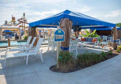 H2OBX Waterpark, Private Cabana Rentals