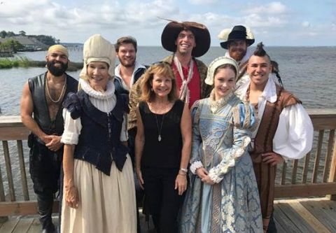 The Lost Colony, Backstage Tour