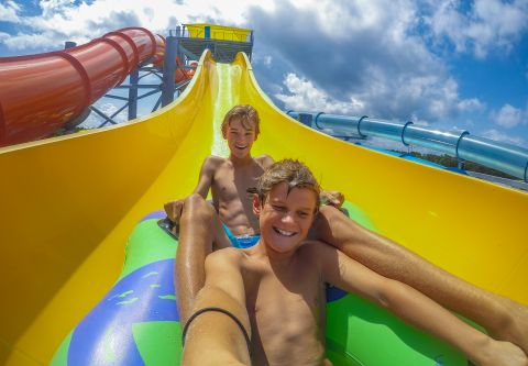 H2OBX Waterpark, Thrill Rides