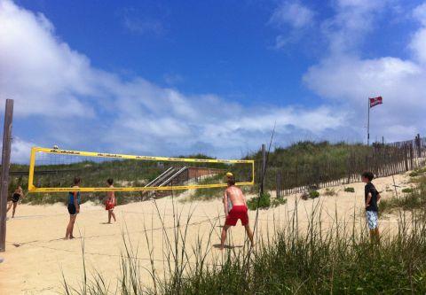 Ocean Atlantic Rentals, A Game of Volleyball