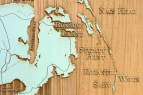 Absolutely Outer Banks, Win an Exclusive Wooden OBX Map