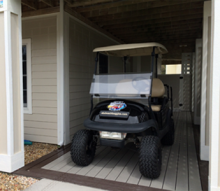 Golf Cart at Outer Banks Rental Home