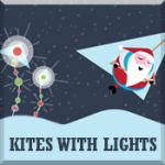Kites with Lights and Hangin' with Santa
